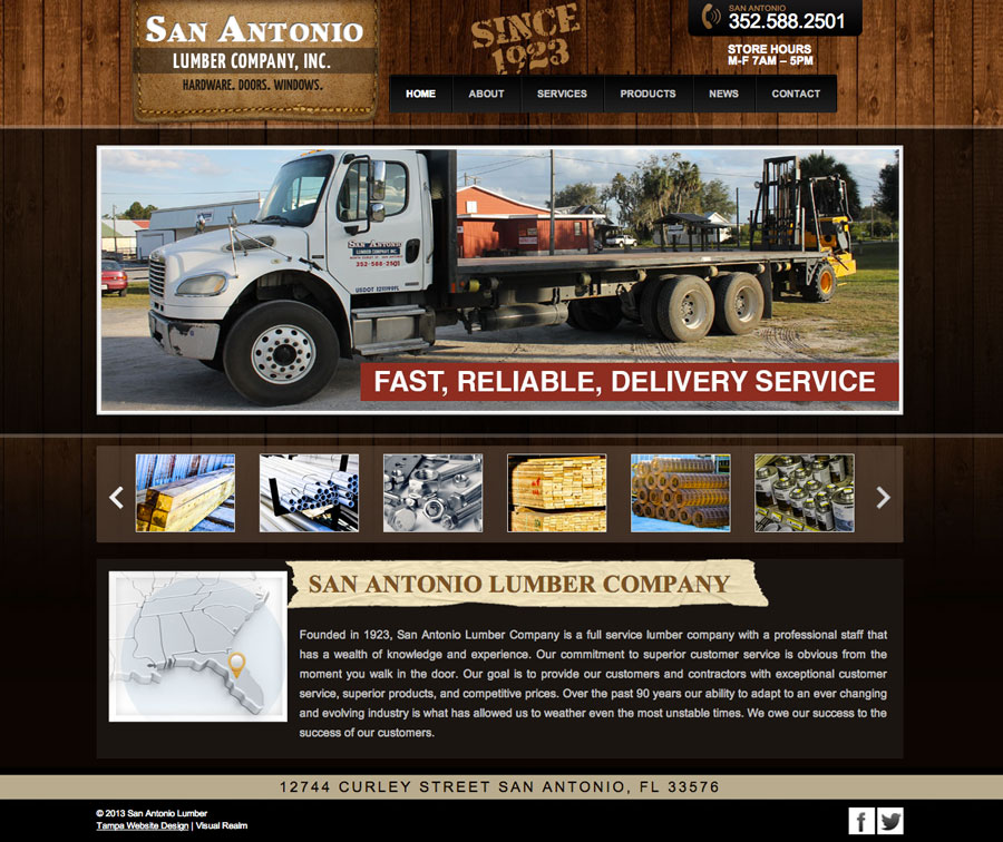 Lumber Website
